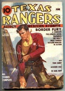 Texas Rangers Pulp June 1937- Jim Hatfield- Border Fury