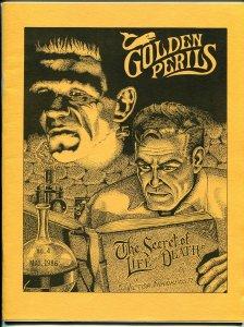 Golden Perils #4 1986-pulp fanzine-Spider-Doc Savage-Frank Hamilton-NM