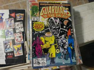 Guardians of the Galaxy # 26 1991 marvel  ORIGIN RE TOLD +