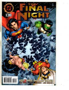 8 DC Comics Final Night 3 2 1 Thunder 1 Demon 23 Sandman KO 1 Gods 1 Lobo 1 RJ10