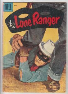 Lone Ranger, The #97 (Jul-56) VG+ Affordable-Grade The Lone Ranger, Tonto, Si...