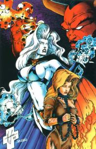 Lady Death III: The Odyssey #minus 1 VF/NM; Chaos | save on shipping - details i