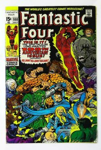 Fantastic Four (1961 series) #100, VG+ (Actual scan)