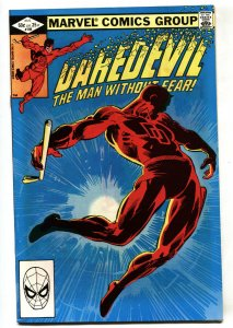 DAREDEVIL #185-PUNISHER-FRANK MILLER-marvel comic book