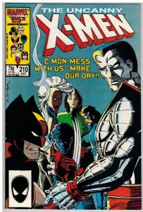 X MEN 210 F-VF Oct. 1986