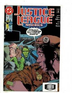 Justice League America #51 (1991) YY8