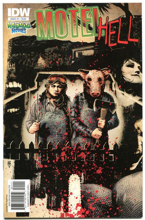 MOTEL HELL #1 2 3, NM, IDW, Little piggie, Murder, 2010,more Horror in store,1-3