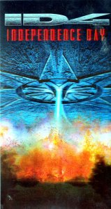 Exc. 1996 Independence Day Lenticular Trading Card
