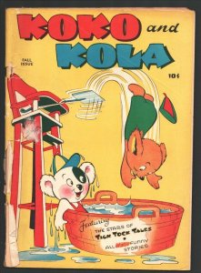 Koko and Kola #1 1946-ME-1st issue-Pixies--Sci-fi story-52 page issue-rare-G