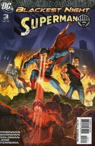Blackest Night: Superman #3 VF/NM; DC | save on shipping - details inside