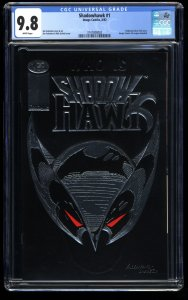 Shadowhawk #1 CGC NM/M 9.8 White Pages