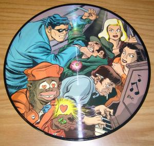 Will Eisner's the Spirit picture disk - ev'ry little bug - bill harr - robbins