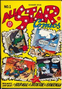 Flashback #22 1970's-Reprints All Star Comics. #1  from 1942-NM