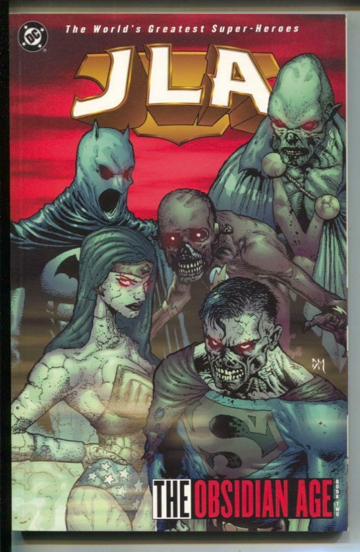 JLA: The Obsidian Age-#12-Joe Kelly-TPB-trade