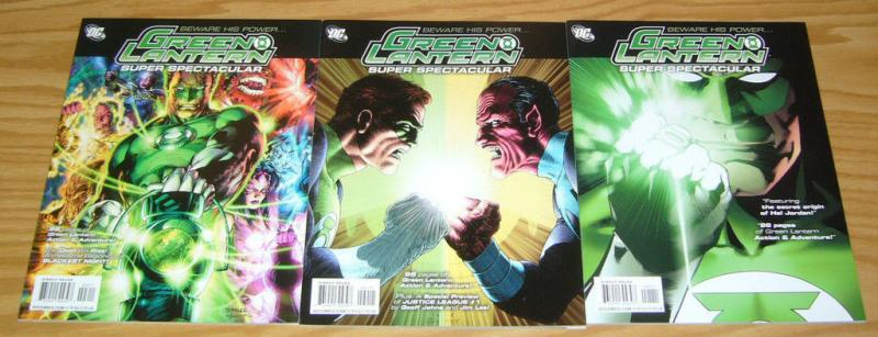 Green Lantern Super Spectacular #1-3 VF/NM complete series ALAN MOORE magazine 2