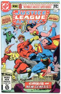 JUSTICE LEAGUE OF AMERICA #183-comic book-DARKSEID APPEARS!! vf/nm
