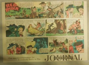 Red Ryder Sunday Page by Fred Harman from 1/20/1946 Half Page Size!