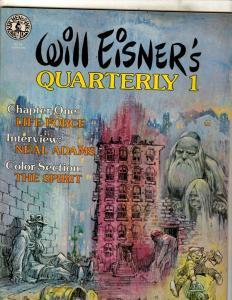 Will Eisner's Quarterly # 1 VF Kitchen Kink Comix Magazine Neal Adams NE1