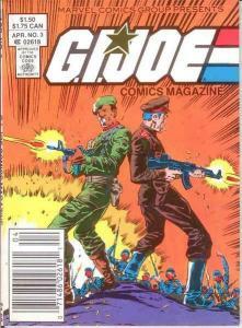 GI JOE DIGEST (COMICS MAGAZINE) 3 VF-NM April.1987 COMICS BOOK