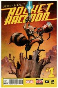 Rocket Raccoon #1 3rd Printing (Marvel, 2014) VF/NM