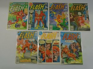 Flash lot 14 different 40c covers from #270-288 avg 5.0 VG FN (1979-80 1st Serie