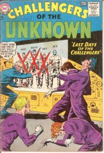 CHALLENGERS OF THE UNKNOWN 37 GOOD May 1964 COMICS BOOK