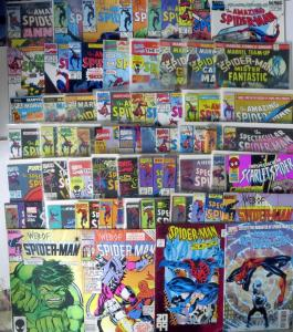 SPIDER-MAN COLLECTION! 58 ISSUES! SPIDEY GEMS FROM THE 80s-90s!