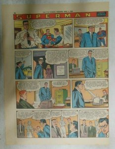 Superman Sunday Page #1014 by Wayne Boring from 4/5/1959 Tabloid Page Size