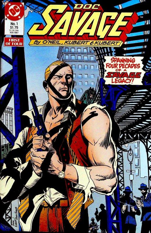 Doc Savage #1 (1987)
