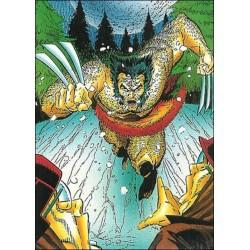 1992 Wolverine: From Then 'Til Now: Series 2 ANIMALISTIC #24