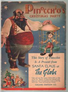 Pinocchio's Christmas Party 1939-Walt Disney-Donald Duck-Mickey Mouse-G