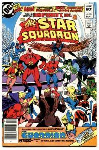 All-Star Squadron #25 comic book First Nuklon / Atom-Smasher DC