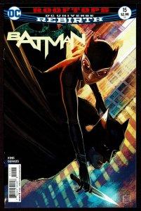 Batman #15 Rebirth (Mar 2017, DC) 0 9.0 VF/NM