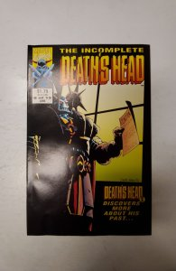 The Incomplete Death's Head (UK) #6 (1993) NM Marvel Comic Book J720
