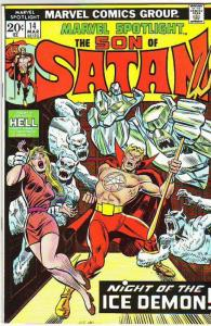 Marvel Spotlight on Son of Satan #14 (Mar-74) NM Super-High-Grade Son of Sata...