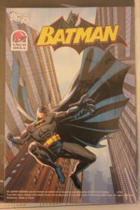 Taco Bell Kid?s Meals Premium: DC Comics 75th Anniversary 3-D Batman  NM Unop...