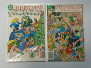 Christmas with the Super-Heroes set #1+2 6.0 FN (1989)