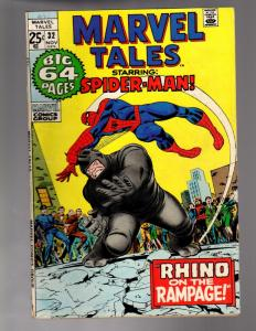 MARVEL TALES 32 VERY GOOD-VERY FINE   November, 1971