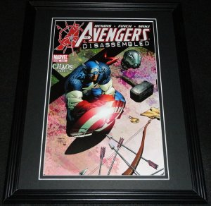 Avengers Disassembled #503 Framed Cover Photo Poster 11x14 Official Repro