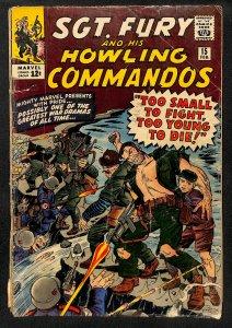 Sgt. Fury #15 (1965)