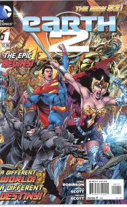 Earth 2 (New 52) #1  9.0 or better (our highest grade)