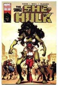 SHE-HULK #22 Zombie Variant cover-2007 comic book