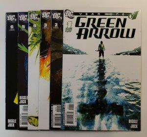 GREEN ARROW #1-6 COMPLETE SET DC COMICS 2007 VF/NM