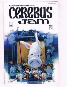 Cerebus Jam # 1 NM Aardvark Vanaheim Comic Book Dave Sim TW18