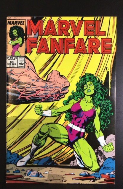 Marvel Fanfare #48 (1989)