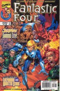 Fantastic Four (1998 series) #18, VF+ (Stock photo)