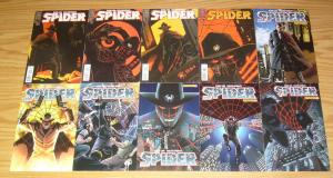 the Spider #1-18 VF/NM complete series - dynamite comics - pulp hero set lot