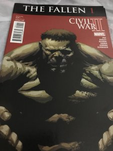 Marvel Civil War II The Fallen 1 Feat Hulk Mint