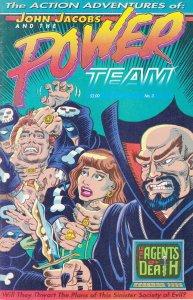 Action Adventures of John Jacobs and the Power Team, The #3 FN; John Jacobs | sa
