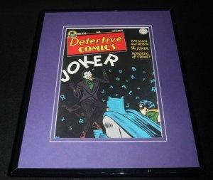 Detective Comics #114 Framed 11x14 Repro Cover Display Joker Batman Robin